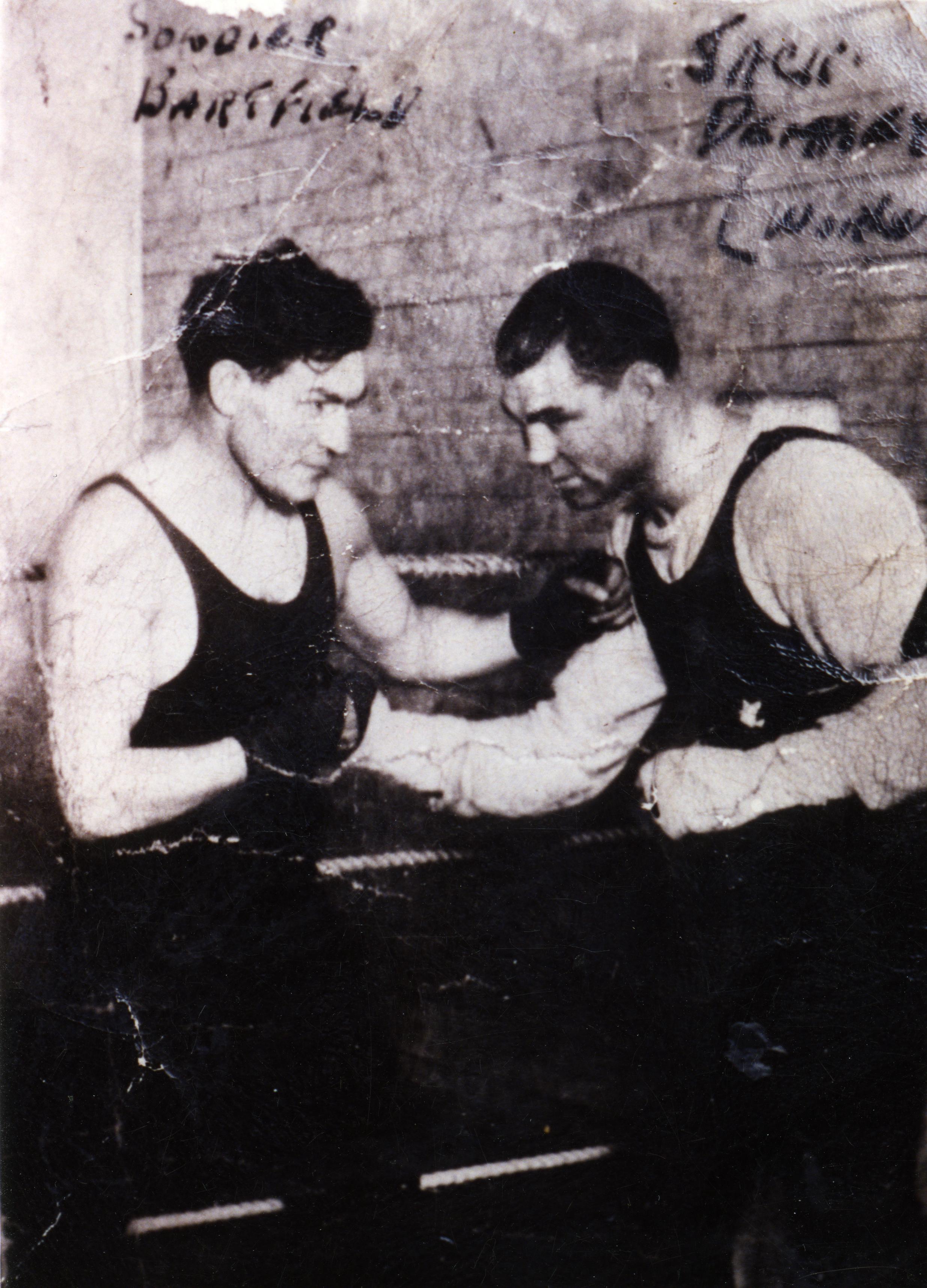 John Pavlovich and Jack Dempsey
