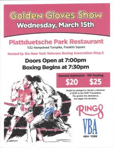 NY Golden Glove Flier 2017 - Ring 8
